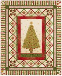 Free Christmas Tree Quilt Patterns Glad Tidings A Free Christmas Quilt