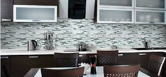 Bliss Midnight Stone And Glass Linear Mosaic Tiles Bathroom - Linear tile backsplash