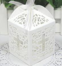 baptism favor boxes 25 laser cut christening favor boxes baptism favors or
