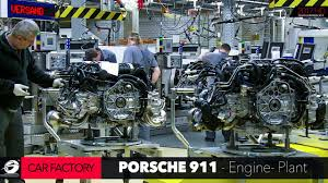porsche 911 factory how it s made porsche 911 car factory engine plant series 2 5