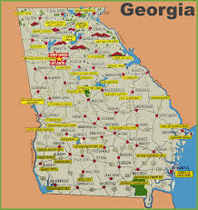 Georgia State University Campus Map by Maps Update 960533 Georgia Tourist Map U2013 About Tourism Tourist