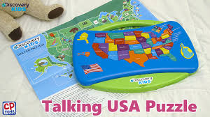 Map Puzzle Usa by Cp Toys Talking Usa Puzzle Youtube