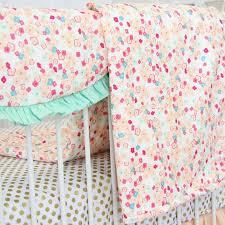 blankets u0026 swaddlings coral crib sheet organic together with