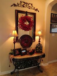love foyer table tuscan style the iron accents for the