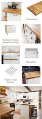 Solid Wood Kitchen Furniture Best 20 Solid Wood Kitchen Cabinets Ideas On Pinterest Solid