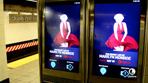 marilyn monroe u0027s dress blows around on these new york subway ads