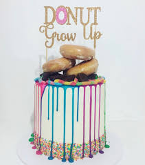 up cake topper donut grow up cake topper donut cake topper donut topper donuts