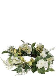 flower candle rings floral candle rings sullivans