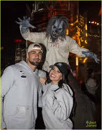 Becky G U0027s Eyes Are Still Blue On Her Halloween Horror Date Night