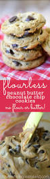 Flourless Peanut Butter Chocolate Chip Cookies The View From