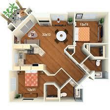Bay Lake Tower Two Bedroom Villa Floor Plan Villas At Park La Brea Apartments Rentals Los Angeles Ca