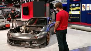 first car ever made in the world unveiling the world u0027s first awd 4 rotor rx 7 youtube