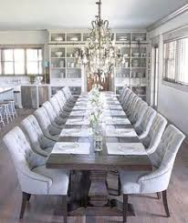 long dining room tables 45 modern farmhouse style decorating ideas on a budget modern