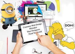 common web design mistakes that designers need to avoid