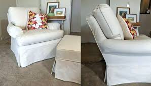 chair and ottoman slipcover large ottoman slipcover chair and ottoman slipcovers sofa canvas