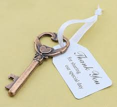 key bottle opener wedding favors wedding favor skeleton key bottle opener and thank you for