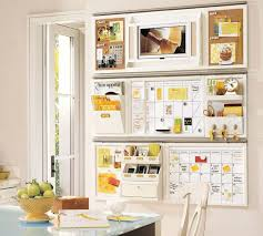 kitchen office organization ideas an awesome kitchen command center for a busy family notice the