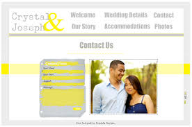 Wedding Websites Purpinka Designs Wedding Websites
