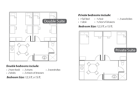University Floor Plans East Hall Campus Living
