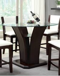 counter dining room sets 9 dark round dining tables for a contemporary dining room cute