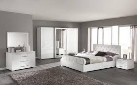 chambre parentale grise chambre parentale blanche et grise déco maison