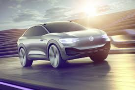 volkswagen electric car volkswagen u0027s i d crozz is a sharp electric concept with a