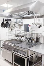 cuisine professionnelle intérieur d une cuisine professionnelle dans un restaurant banque d