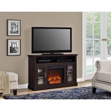 classy 30 living room with electric fireplace and tv design ideas
