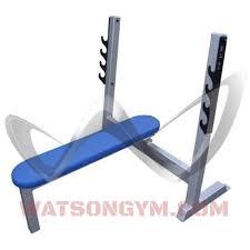 olympic flat bench watson gym equipment