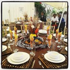 traditional decor african table decorations home decorating ideas