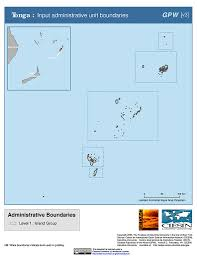 Tonga Map Maps Gridded Population Of The World Gpw V3 Sedac