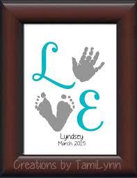 baby handprint paint ideas ba footprint handprint