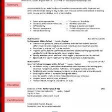 Teacher Resume Templates Microsoft Word 2007 Cover Letter Resume Templates Teacher Creative Teacher Resume