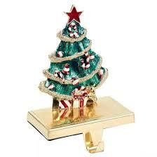 zinc christmas tree stocking holder target