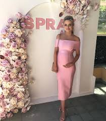baby shower dress for to be murphy cestvogue on instagram looking wonderful in pink