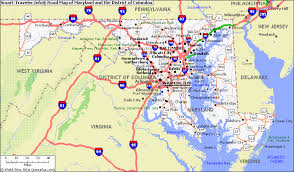 maryland map by city united states map of maryland united states house of road map