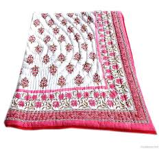 Indian Print Duvet Indian Quilts Google Search Indian Print Cotton Quilts Indian