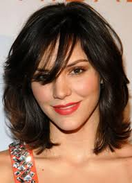 medium length layered hairstyles with bangs for hair popular