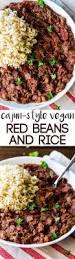 cajun thanksgiving cajun style vegan red beans and rice recipe vegans rice and beans