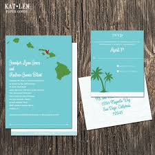 wedding invitations san diego hawaii wedding invitation destination wedding invitation