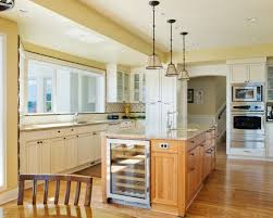 kitchen island with refrigerator traditional kistchen island kitchen with wine fridge on