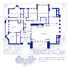 file wright heurtley house lower floor png wikimedia commons