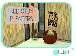 tree stump planters sims 4 designs november 2015