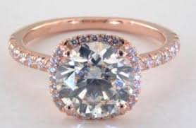 colored rings images What is the best diamond color for rose gold rings jpg