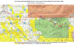 Montana Road Conditions Map Pryor Mountain Road U2014 The Pryor Mountains