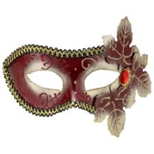 masquarade mask masquerade mask with leaves