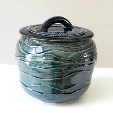 stoneware kitchen canisters stoneware kitchen canisters blue green stoneware kitchen canister