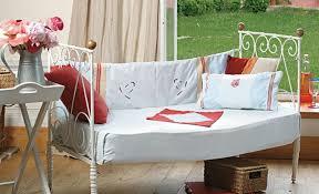 tutoriel couture habiller un canapé réalisé avec lit ancien