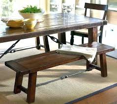 Upholstered Kitchen Bench With Back Dining Table With Bench With Back U2013 Mitventures Co