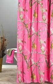 Realtree Shower Curtain Realtree Camo Curtains Hardwoods Snow Fabric Fuchsia Shower